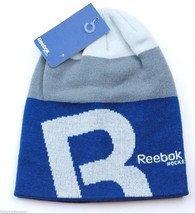 Reebok C1430 Branded Hockey Logo Lifestyle Knit  Winter Hat Beanie Toque - $18.04