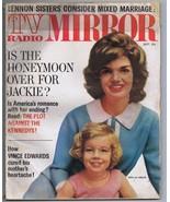 ORIGINAL Vintage 1962 TV Radio Mirror Magazine Jackie Caroline Kennedy - $29.69