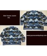 Blair Women's Western Jacket Horses Sz 3XL Fleece Lined - $27.99