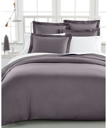 Damask Full/Queen Duvet Cover, 500 Thread Count 100% Pima Cotton, Slate - $59.39