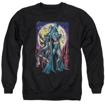 Batman - Paint The Town Red Adult Crewneck Sweatshirt Officially Licensed Appare - $29.99+