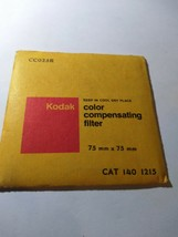 KODAK CC025R  75MMX75MM FILTER  1401215 - $10.99