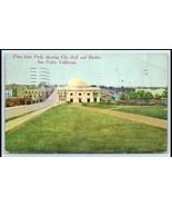 San Pedro City Hall Postcard San Pedro,California - $10.00