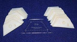 "Mylar 2"" Half Hexagon 51 Piece Set - $16.99"