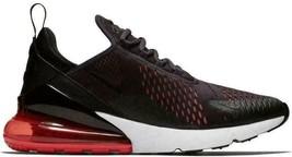 Nike Air Max 270 Öl Grau Habanero Rot Herren 11 Neu in Box AH8050 013 Sommer - $130.90