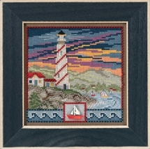 Lighthouse 2017 Spring Series  Buttons and Beads cross stitch Mill Hill - $12.60