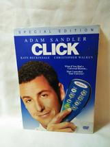 Click (DVD, 2006, Special Edition) ADAM Sandler, Kate Beckinsale - $1.73