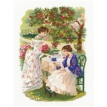 RIOLIS Counted Cross Stitch Kit, The Russian Country Estate, Kit #R1140 - $25.50