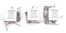 LOT OF 16 NEW GARDNER SPRING GT7840609-MR TORSION SPRINGS 90 X 0.678 X 0.078