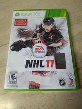NHL 11  (Xbox 360, 2010) , COMPLETE WITH ORIGINAL CASE & ARTWORK +DISC+ ... - $5.99