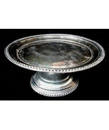 Antique Civil War Era Rogers Smith & Co Hartford CT Silver Plate #12 Cak... - $27.50