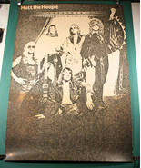 MOTT THE HOOPLE 1972 All The Young Dudes era COLUMBIA PROMO POSTER Ian H... - $259.99