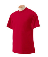 Gildan G200 Antique Cherry Red 2XL  200G Ultra Cotton T shirt 2000 Nwot - $7.37