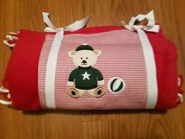 Vintage gymboree Baby Christmas Blanket Fleece New - $44.55