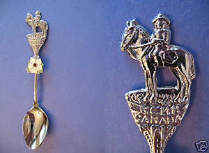 Primary image for RICHMOND BC. Souvenir Collector Spoon RCMP POLICE on Horse Collectible
