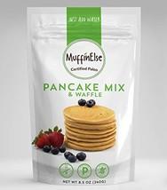 MuffinElse Paleo Pancake & Waffle Mix – Certified Paleo Pancake Mix – Dairy Free