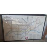London Underground Railway Map Poster - GREAT VINTAGE POSTER - COLLECTIB... - $89.09