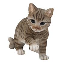 "Animal Collection Life Size American Shorthair Kitten Figurine Statue 9""... - $49.49"