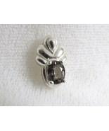 Sapphire Pendant, Sterling Mount, RKS100 - $25.00