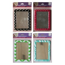 "MILAN STUDIO* 5.2"" x 6.9"" MAGNETIC LOCKER MIRROR School Decor *YOU CHOOS... - $3.99"
