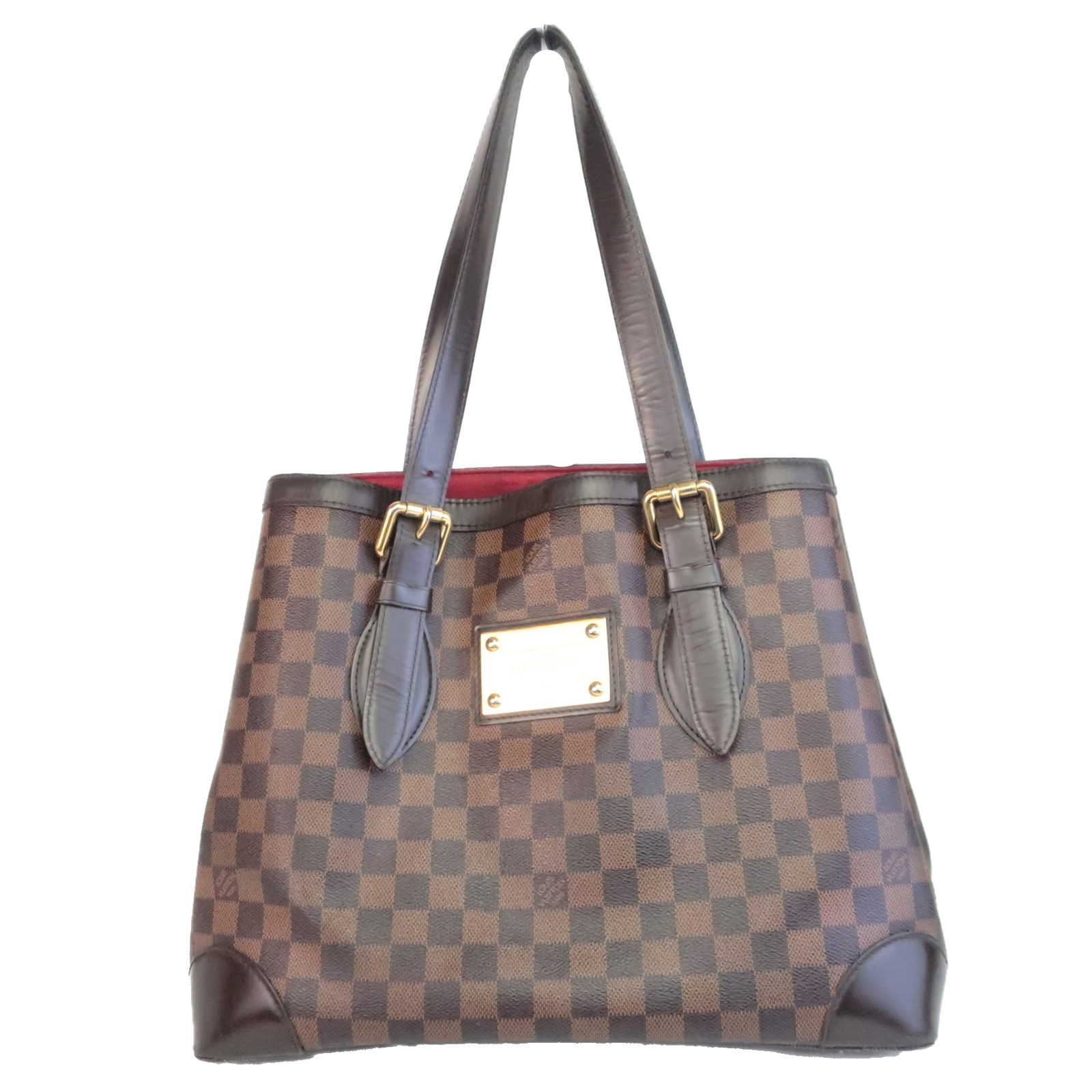 Primary image for Louis Vuitton Damier Ebene Hampstead MM Shoulder bag