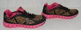 Crazy Train RUNWILD14 Black Pink Cheetah Sneakers Size 9 image 3