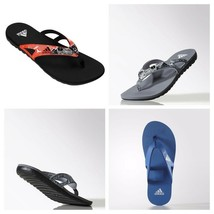 adidas Mens Calo 5 Flip Flops Sandals Pool Beach Shoes Slides - $21.60+