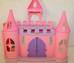 Fisher Price Little People Dance n Twirl Palace Castle Pink Purple Bldg only - $49.95