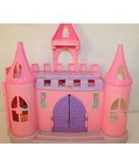 Fisher Price Little People Dance n Twirl Palace Castle Pink Purple Bldg ... - $49.95