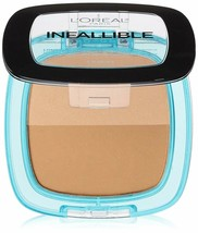 L'Oréal Paris Infallible Pro Glow Pressed Powder, Creme Cafe, 0.31 oz.--c15 - $7.84