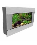 Aussie Aquarium AA-MINIVIEW-SSTAIN 2.0 Wall Mounted Aquarium Silver Stai... - $168.21