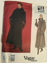 Vogue Sewing Pattern Claude Montana  # 1253 SZ 14-16-18 Coat Uncut - $29.99