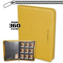 Case (6) BCW Z-FOLIO 9-POCKET LX ALBUM - YELLOW - $104.49