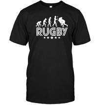 Rugby Evolution Retro Style Graphic T Shirt - $17.99+