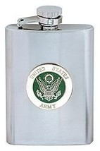 Army 8 Ounce Military Stainless Steel Flask - $32.48