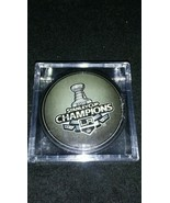 2012 Los Angeles Kings Stanley Cup Official NHL. Puck In Case - $7.87