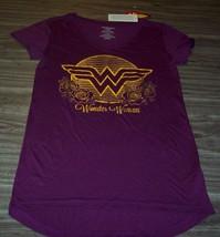 Women's Teen Dc Comics Wonder Woman T-shirt Justice League Xs New - $19.80