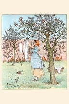 The Maid was in the Garden hanging out the clothes by Randolph Caldecott - Art P - $19.99+