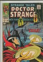 Strange Tales #168 ORIGINAL Vintage 1968 Marvel Comics Dr Strange Nick Fury - $39.59