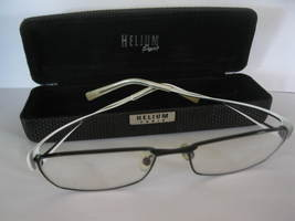 (MX-6) Morel France pair of EyeGlasses w/ Helium Paris hardcase - $100.00