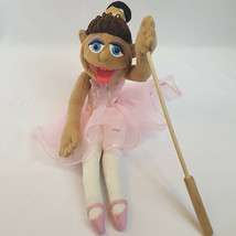 "Melissa & Doug 24"" Full Body Tina Prima Ballerina Puppet W/ Rod Pink Tutu Dress - $27.66"