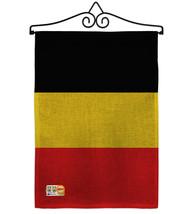 Belgium Burlap - Impressions Decorative Metal Wall Hanger Garden Flag Se... - $33.97