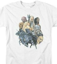 Lord of the Rings T shirt COLLAGE OF EVIL Hobbit cotton graphic tee LOR1012 image 3