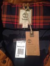 Timberland Men's Mt Davis Waxed Down Jacket, Wheat. Size: L - $148.67