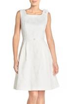 Ellen Tracy Petite Women's Ellen Tracy Floral Jacquard Fit & Flare Dress... - $26.73
