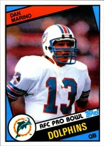 Dan Marino 1984 Topps #123 rookie reprint card Miami Dolphins Mint - $2.99