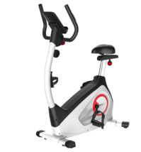 Fitleader UF1 Upright Stationary Removable Exercise Bike, White - $183.10