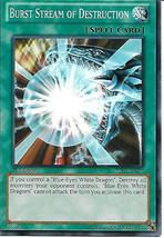 Yu-Gi-Oh Card- Burst Stream of Destruction  - $1.00