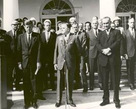 Mercury astronauts receive award from President John F. Kennedy Photo Print - $8.81