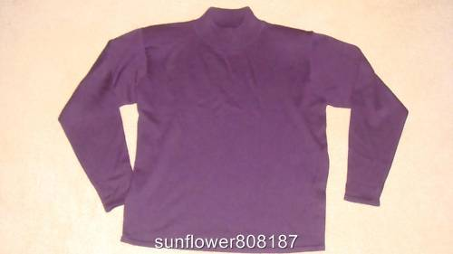 Misses Mock Neck Long Sleeves Sweater - S - NWOT Bonanza